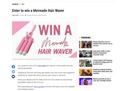 Win 1 of 5 Mermade Hair Wavers!