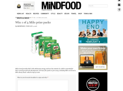 Win 1 of 5 Milo prize packs