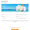 Win 1 of 5 Natio 'True Blue' beauty packs!