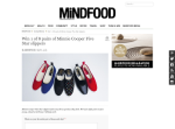 Win 1 of 5 pairs of Minnie Cooper '5 Star' slippers!
