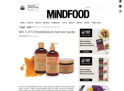 Win 1 of 5 SheaMoisture haircare packs!