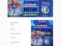 Win 1 of 5 Sonic Retro T-Shirts!