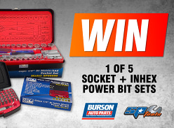 Win 1 of 5 SP Tools Socket & Inhex Power Bit Sets