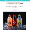 Win 1 of 50 4-packs of 'Nexba' naturally sugar-free soft drinks!