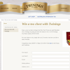 Win 1 of 50 'Twinings' tea chests!