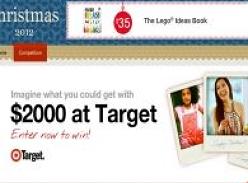 Win 1 of 6 $2,000 Target Vouchers