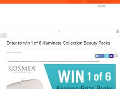 Win 1 of 6 Illuminate Collection Beauty Packs