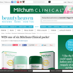 Win 1 of 6 Mitchum Clinical packs!