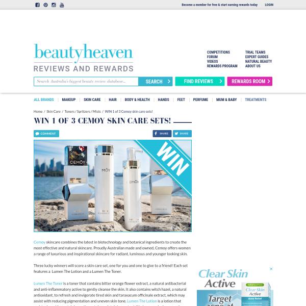 Beauty Heaven - Win 1 of 6 Premium Skincare Sets - Competitions com au
