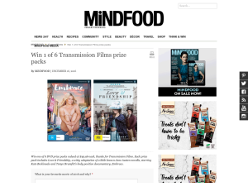 Win 1 of 6 'Transmission Films' prize packs!
