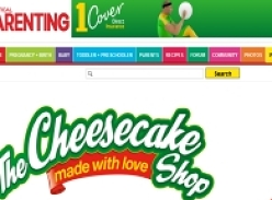 Win 1 of 65 vouchers from The Cheesecake Shop!