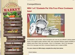 Win 1 of 7 Essteele Per Vita Four-Piece Cookware Sets!