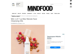 Win 1 of 7 La Mav Marula Face Cleansing Oils