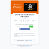Win 1 of 8 $100 Amazon Gift Cards