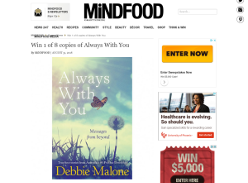 Win 1 of 8 copies of Always With You
