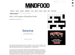 Win 1 of 8 copies of Intuitive book