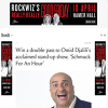 Win 1 of 8 Double Passes to Omid Djalili's 'Schmuck for an Hour'