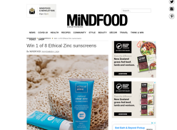 Win 1 of 8 Ethical Zinc sunscreens