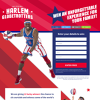 Win 1 of 8 Harlem Globetrotters/Washington Generals Experiences for 4