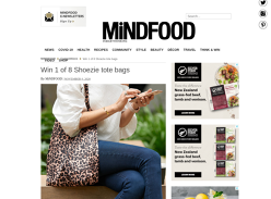 Win 1 of 8 Shoezie tote bags