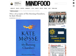 Win 1 of 9 copies of The Burning Chambers, by Kate Mosse