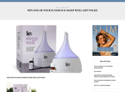 Win 1 out of 4 In Essence Sleep Well Gift Packs