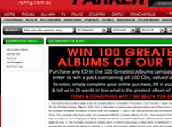 Win 100 greatest albums of our time!