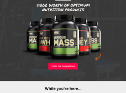Win $1000 Worth of Optimum Nutrition Products