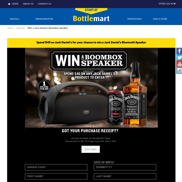Win 100's of Bluetooth Speakers