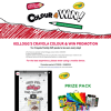 Win 100's of Crayola Creative Packs