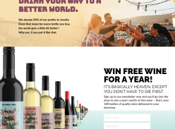 Win 104 Bottles of Wine