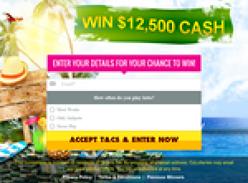 Win $12,500 Cash