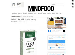 Win 12 Cases of Australia's Own Like Milk