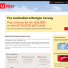 Win $16,000 with Australia Post