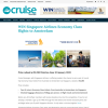 Win 2 Return Economy Class Tickets Australia to Amsterdam Valued at $2,280.00 Flying Singapore Airlines