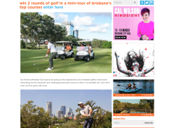 Win 2 Rounds Of Golf In A Mini-tour Of Brisbane's Top Courses