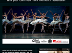 Win 2 x A-Reserve tickets to see ABT perform Swan Lake