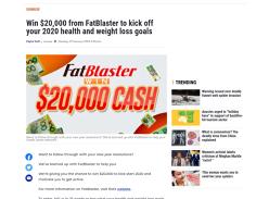 Win $20,000 from FatBlaster!