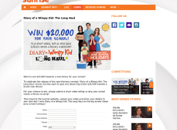 Win $20,000 towards a new library for your school