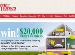 Win $20,000 worth of prizes