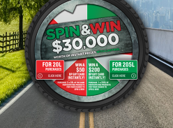 Win $30,000 worth of Instant Prizes!