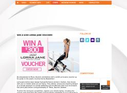 Win $300 Lorna Jane voucher