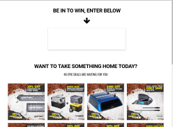 Win $4,591 of Camping and 4X4 Gear