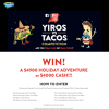 Win $4,900 Travel Adventure or $4,000 Cash