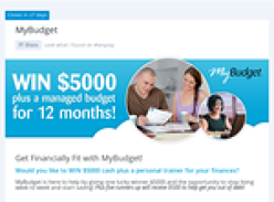Win $5,000 + a managed budget for 12 months!