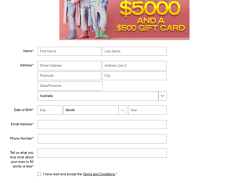 Win $5,000 & a $500 Peter Alexander gift card each day this week!