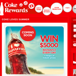 Win $5,000 instantly every day + HEAPS of instant prizes!