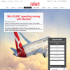 Win $5,000* spending money with Qantas!