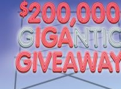 Win $50,000 or 1 of 315 $500 Instant Win $500 Gift Cards