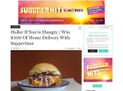 Win $500 of home delivery with Suppertime!